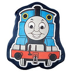 Thomas & Friends - Blue 'Thomas' shaped cushion