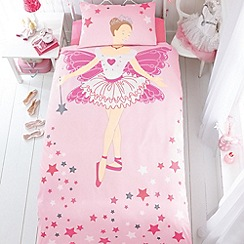 bluezoo - Kid's pink ballerina bedding set