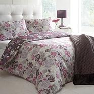 Designer purple 'Camilla' bedding set
