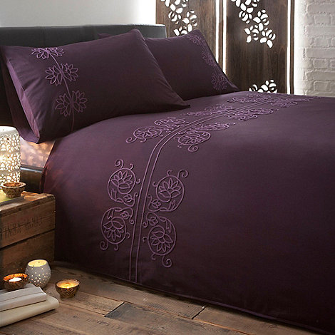 RJR.John Rocha - Designer purple +Chakra+ bedding set