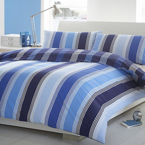 Debenhams - Blue +Scandi+ bedding set