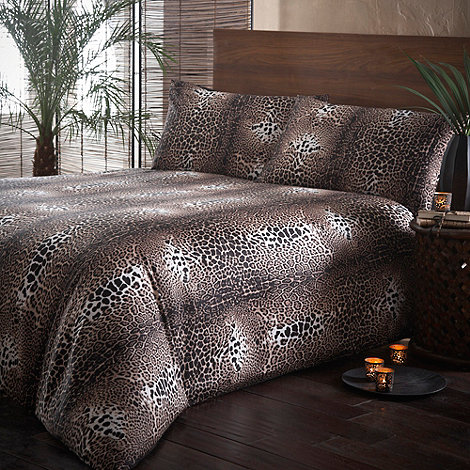 Star by Julien Macdonald - Natural +Desert+ animal print bedding set