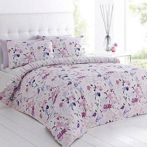 Betty Jackson.Black - Designer purple +Eliza+ bedding set