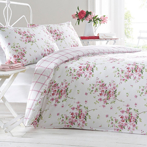 Debenhams - Pink +Lillian floral+ bedding set