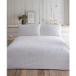 RJR.John Rocha - Designer white 'Serenity' bedding set