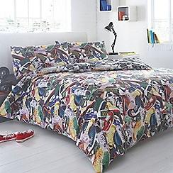 Ben de Lisi Home - Designer black 'Trainers' bedding set