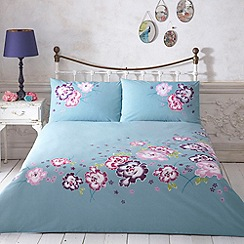 Butterfly Home by Matthew Williamson - Designer turquoise 'Kimono' bedding set