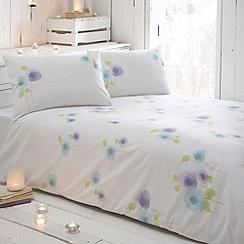 RJR.John Rocha - Designer white 'Zen' bedding set