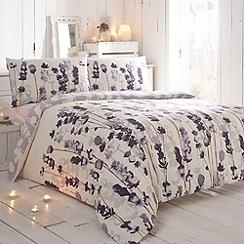 RJR.John Rocha - Designer purple 'Indigo' bedding set