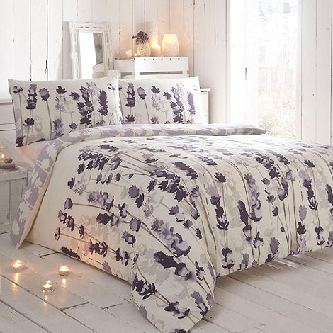 RJR.John Rocha - Designer purple 'Indigo' bedding set