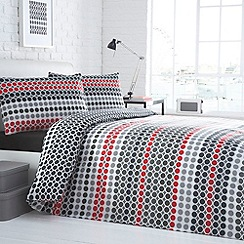 Debenhams - Black 'Arena' bedding set