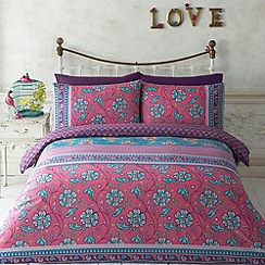 Butterfly Home by Matthew Williamson - Designer pink 'Dashwood' bedding set