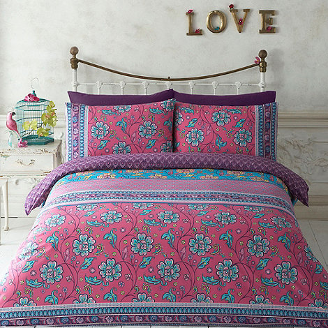 Butterfly Home by Matthew Williamson - Designer pink +Dashwood+ bedding set