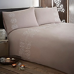 RJR.John Rocha - Designer natural 'Chakra' bedding set