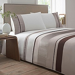 Debenhams - Natural 'Alisa' bedding set