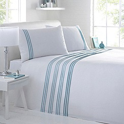 Debenhams - Aqua 'Phoebe' bedding set