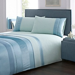 Debenhams - Aqua 'Alisa' bedding set