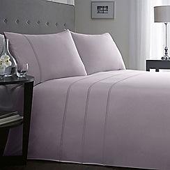 J by Jasper Conran - Designer lilac 'Fawsley' bedding set