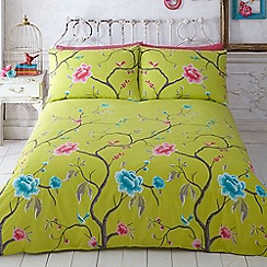 Butterfly Home by Matthew Williamson - Green 'Chinoise' bedding set