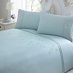 Debenhams - Aqua 'Victoria' bedding set