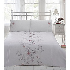 Debenhams - Multicoloured 'Zoe Butterfly' bedding set