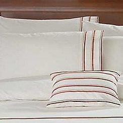 Debenhams - Cream 'Chelsea' pillow case