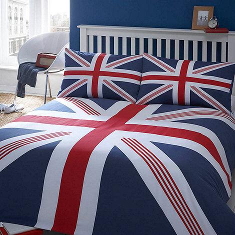 Debenhams - Blue +Union Jack+ bed linen