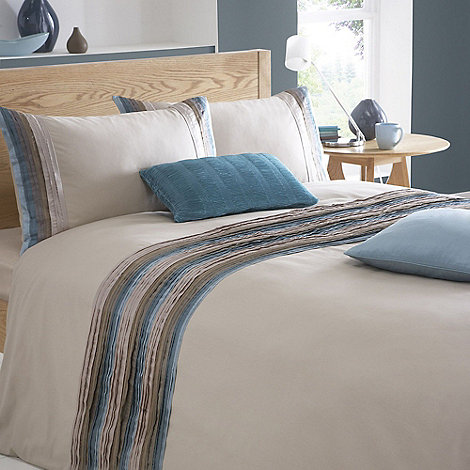 Debenhams - Blue +Boston+ duvet cover