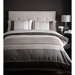 Debenhams - Chocolate 'Sophia' bed linen