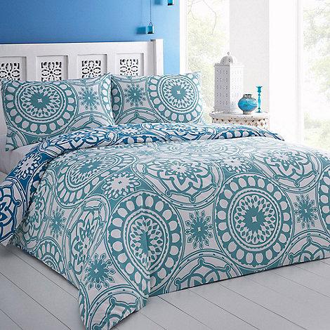 Debenhams - Blue +Asilah+ bed linen