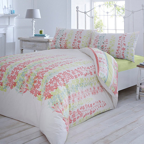 Debenhams - White +Heidi+ bed linen