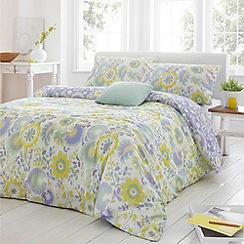 Debenhams - Lilac 'Olivia' bed linen