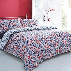 Debenhams - Blue 'Birdie' bed linen