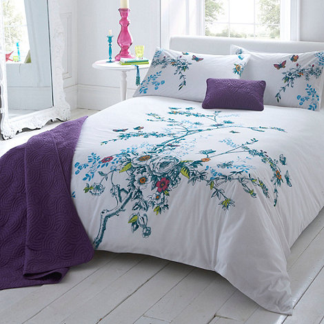 Debenhams - White +Anna+ bed linen