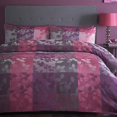 Debenhams - Purple +Verity+ bedding set