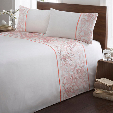 Debenhams - Red +Elsie+ floral bedding set