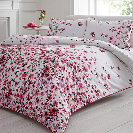 Debenhams - Pink 'Alimar' bedding set