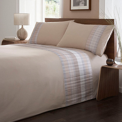 Debenhams - Natural +Finlay+ bedding set