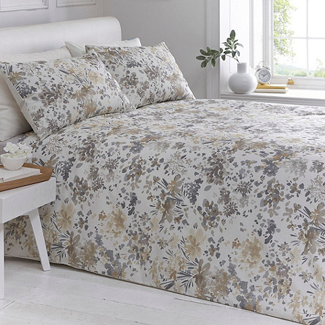 Debenhams - Natural +Orla+ bedding set