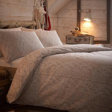 Debenhams - Natural +Aspen+ bedding set