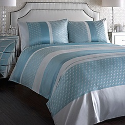 Debenhams - Aqua 'Bardot' bedding set