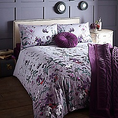 Home Collection - Purple 200 thread count 'Willow' bedding set