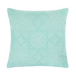 Home Collection - Cream folk patterned cushion