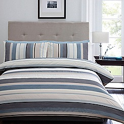 Home Collection - Blue 'Waven' bed linen