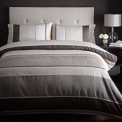 Home Collection - Chocolate 230 thread count 'Sophia' bedding set