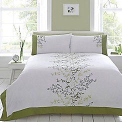 Home Collection - Green 'Fernwood' bedding set