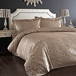 Home Collection - Light brown jacquard 'Lucille' bed linen