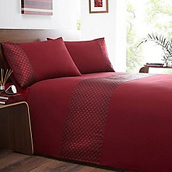 Home Collection - Red 'Seattle' bedding set