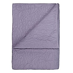 Home Collection - Purple 'Georgia' throw