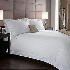 J by Jasper Conran - Designer white 'Hotel Capri' bed linen